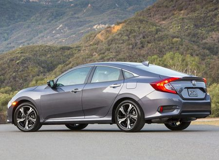 Can canh xe Honda Civic 2016 moi - Anh 1