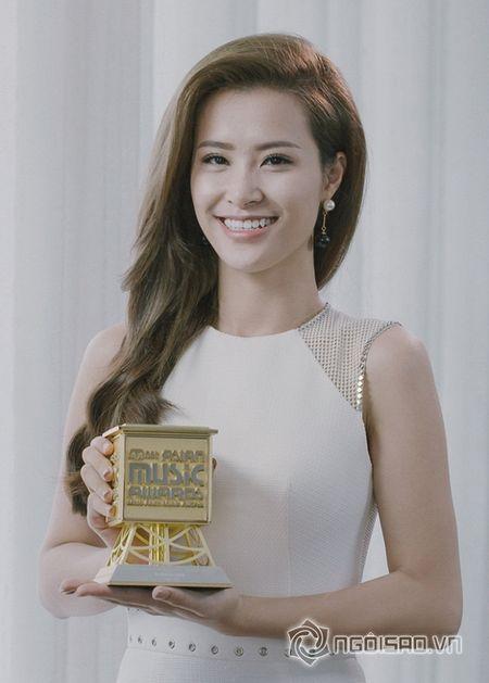 Dong Nhi doat giai 'Nghe si chau A xuat sac nhat' tai MAMA 2015 - Anh 3