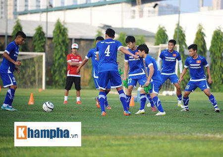 """Cong Phuong, Xuan Truong """"lam ma"""" o U23 Viet Nam - Anh 10"""