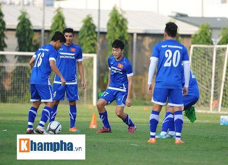 """Cong Phuong, Xuan Truong """"lam ma"""" o U23 Viet Nam - Anh 1"""