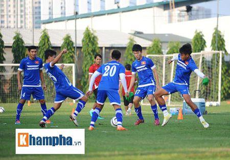 """Cong Phuong, Xuan Truong """"lam ma"""" o U23 Viet Nam - Anh 8"""