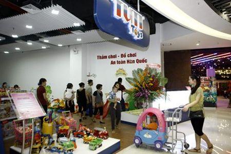 Ruc ro sac mau tai Aeon mall Long Bien - Anh 11
