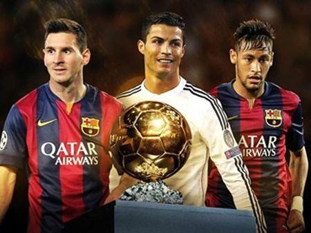 Qua bong vang FIFA 2015: Ronaldo tuyen bo Messi se duoc ton vinh - Anh 1