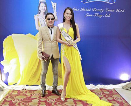 Bau Hoa lich lam du tiec mung tan A hau quoc te Lam Thuy Anh - Anh 3
