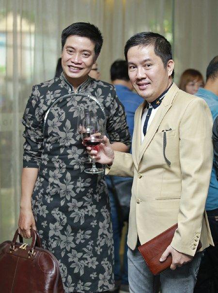 Bau Hoa lich lam du tiec mung tan A hau quoc te Lam Thuy Anh - Anh 6