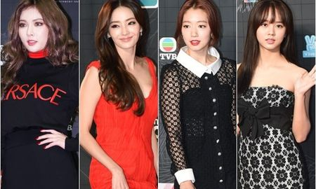 Dan sao Kpop do bo le trao giai MAMA 2015 - Anh 1
