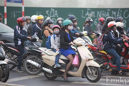 Anh: Suong mu day dac bao phu Ha Noi - Anh 7