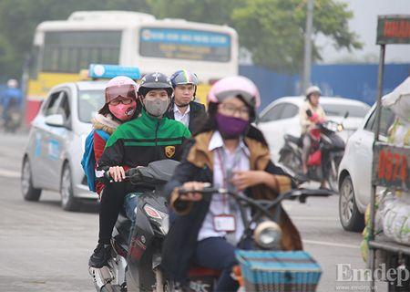 Anh: Suong mu day dac bao phu Ha Noi - Anh 8
