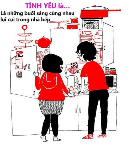 Anh dang yeu: Gia dinh nong am voi nhung dieu gian di - Anh 1