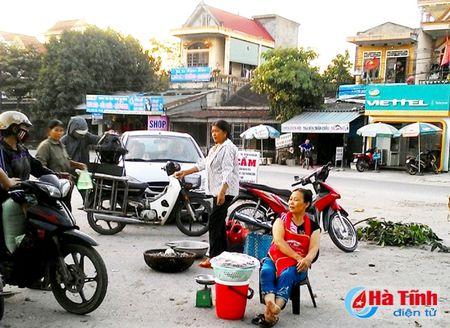 Can som dep bo cho coc tren duong den Khu luu niem Nguyen Du - Anh 1