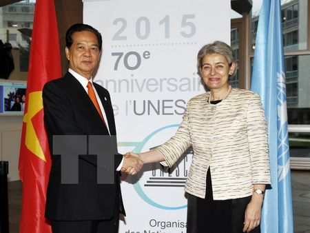 Mong muon UNESCO ung ho cac de cu di san the gioi cua Viet Nam - Anh 1