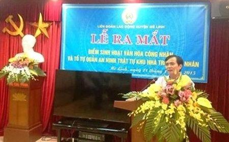 Cong nhan lao dong Cty CP Xuan Hoa Ha Noi da co diem sinh hoat van hoa - Anh 1