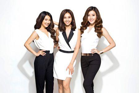 Huyen My, Lan Ngoc va Nha Phuong bien hoa voi sac trang - Anh 5