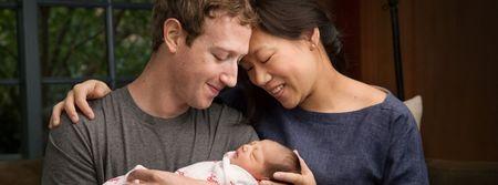 Ong chu Facebook cam ket lam tu thien 99% tai san trong thu gui con gai - Anh 1