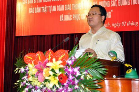 Quang Ninh so ket 3 nam thuc hien Chi thi 18 ve ATGT - Anh 2
