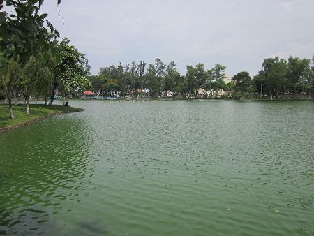 Canh bao viec danh bat ca tai noi nhiem dioxin nang nhat Viet Nam - Anh 1