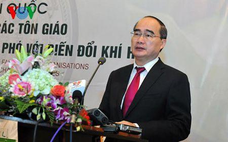 Ong Nguyen Thien Nhan du hoi nghi cac ton giao voi bien doi khi hau - Anh 2