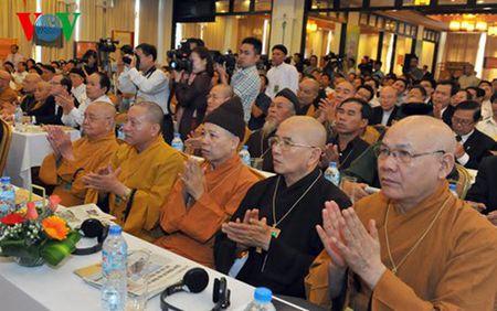 Ong Nguyen Thien Nhan du hoi nghi cac ton giao voi bien doi khi hau - Anh 3