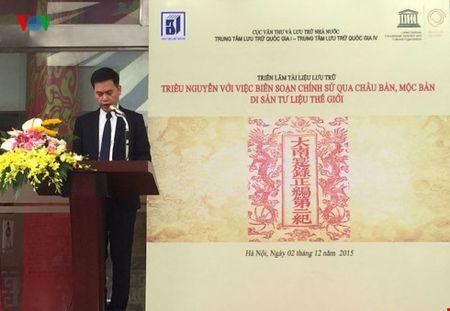 Trieu Nguyen voi viec bien soan chinh su qua Chau ban, Moc ban - Anh 2