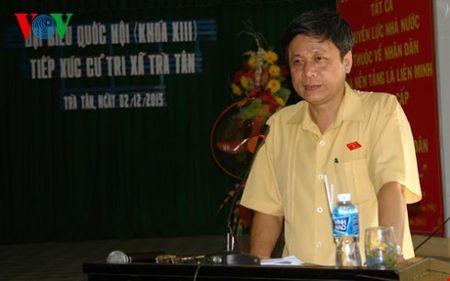 Doan Dai bieu Quoc hoi tinh Binh Thuan tiep xuc cu tri - Anh 2