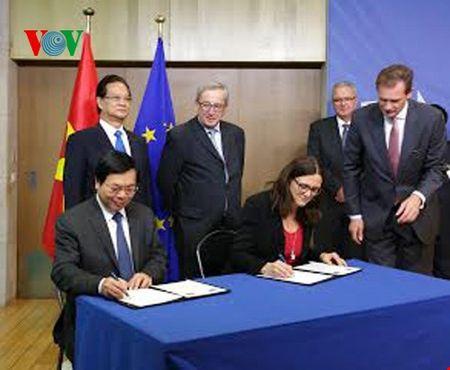 Viet Nam-EU tuyen bo chinh thuc ket thuc dam phan FTA - Anh 2