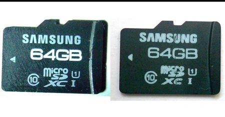 Cach phan biet the microSD that va gia - Anh 1