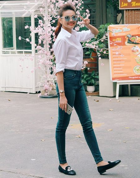 Me man street style cua my nhan Viet nhung ngay giap Tet - Anh 2