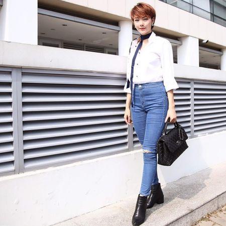 Me man street style cua my nhan Viet nhung ngay giap Tet - Anh 3