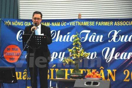 Cong dong nguoi Viet o Australia, Thuy Sy don Tet Binh Than 2016 - Anh 1