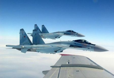 Nga tang cuong quang ba khi Su-35 'em am'? - Anh 1