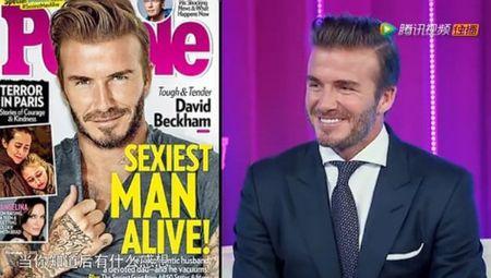 David Beckham: 'Dep trai qua cung met' - Anh 5