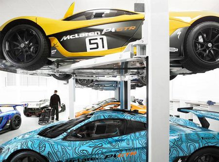 """Dot nhap"" gara sieu xe dua McLaren P1 GTR 820 ty - Anh 2"