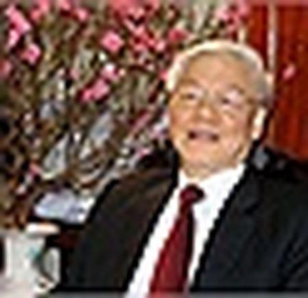 Tong Bi thu chuc Tet lanh dao Dang, Nha nuoc va dong bao ca nuoc - Anh 2