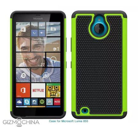 Lo anh thuc te Lumia 850: cum camera nho, microUSB nam canh tren, den flash camera truoc - Anh 1