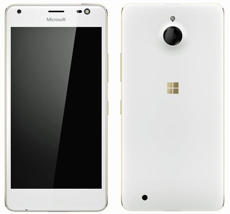 Lo anh thuc te Lumia 850: cum camera nho, microUSB nam canh tren, den flash camera truoc - Anh 2