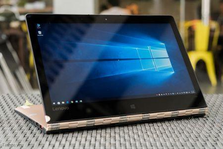 [Tren tay] Laptop Lenovo Yoga 900 - Chip Skylake, man hinh xoay 360 do - Anh 3