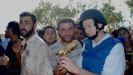 Khau sung vang cua ong Gaddafi dang o dau? - Anh 1