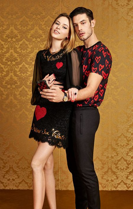 Dolce & Gabbana ra BST trai tim do chung cam hung voi Do Manh Cuong - Anh 1