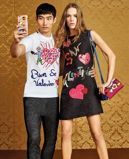 Dolce & Gabbana ra BST trai tim do chung cam hung voi Do Manh Cuong - Anh 4