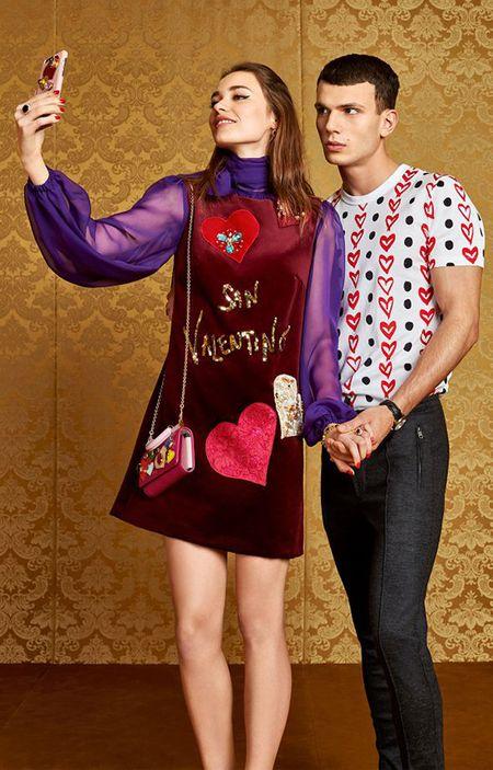 Dolce & Gabbana ra BST trai tim do chung cam hung voi Do Manh Cuong - Anh 5