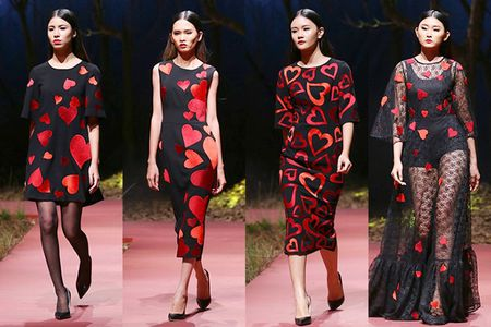 Dolce & Gabbana ra BST trai tim do chung cam hung voi Do Manh Cuong - Anh 7