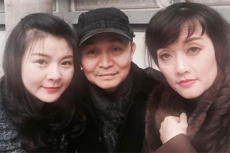HH Diem Huong cho con trai 1 tuoi di lam toc don Tet - Anh 6