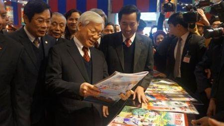 Trien lam - Hoi bao Xuan toan quoc Mung Xuan Binh Than - Anh 1