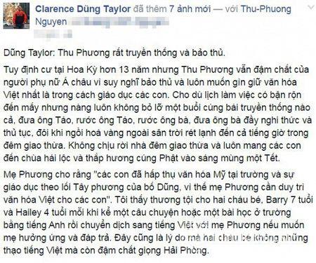 Chong Thu Phuong 'ke xau' vo la nguoi truyen thong va bao thu - Anh 1