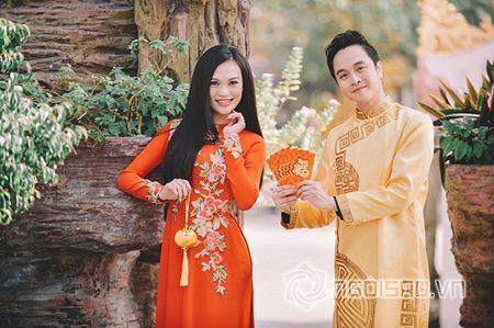 Nhat Tinh Anh tinh tu ben Cao Thuy Linh cung nhau don xuan - Anh 1