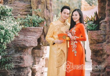 Nhat Tinh Anh tinh tu ben Cao Thuy Linh cung nhau don xuan - Anh 2