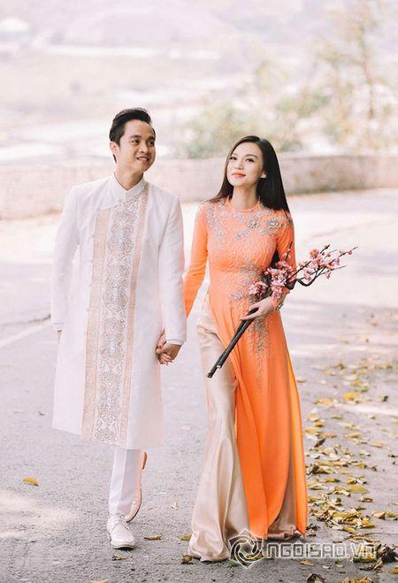 Nhat Tinh Anh tinh tu ben Cao Thuy Linh cung nhau don xuan - Anh 5