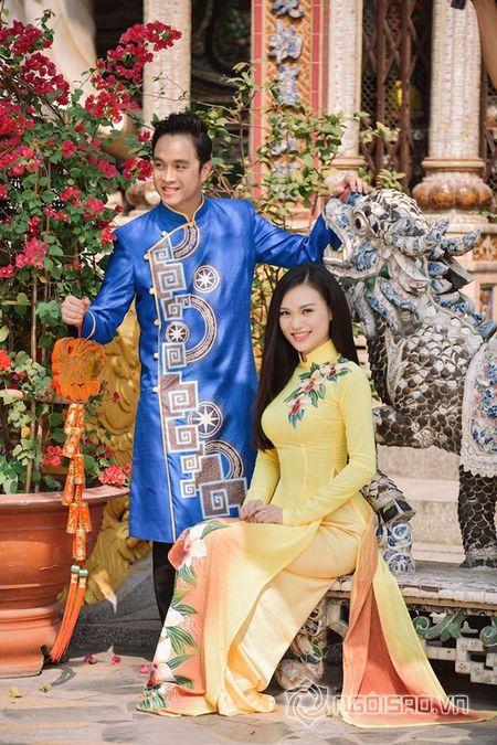Nhat Tinh Anh tinh tu ben Cao Thuy Linh cung nhau don xuan - Anh 6