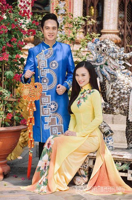 Nhat Tinh Anh tinh tu ben Cao Thuy Linh cung nhau don xuan - Anh 7