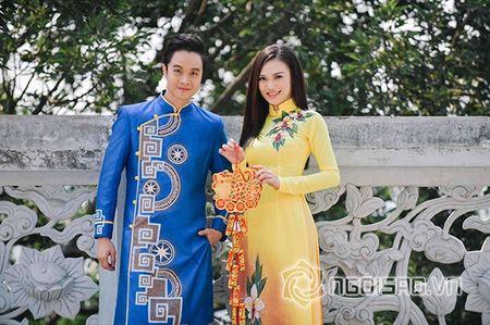 Nhat Tinh Anh tinh tu ben Cao Thuy Linh cung nhau don xuan - Anh 8